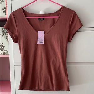 NEW Wild Fable medium cropped top cinnamon spice